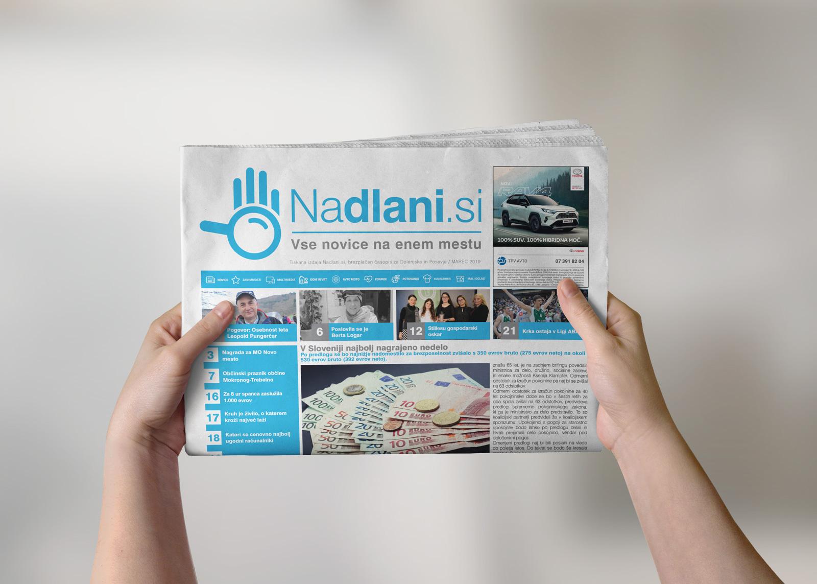 Časopis NaDlani.si - Marec 2019