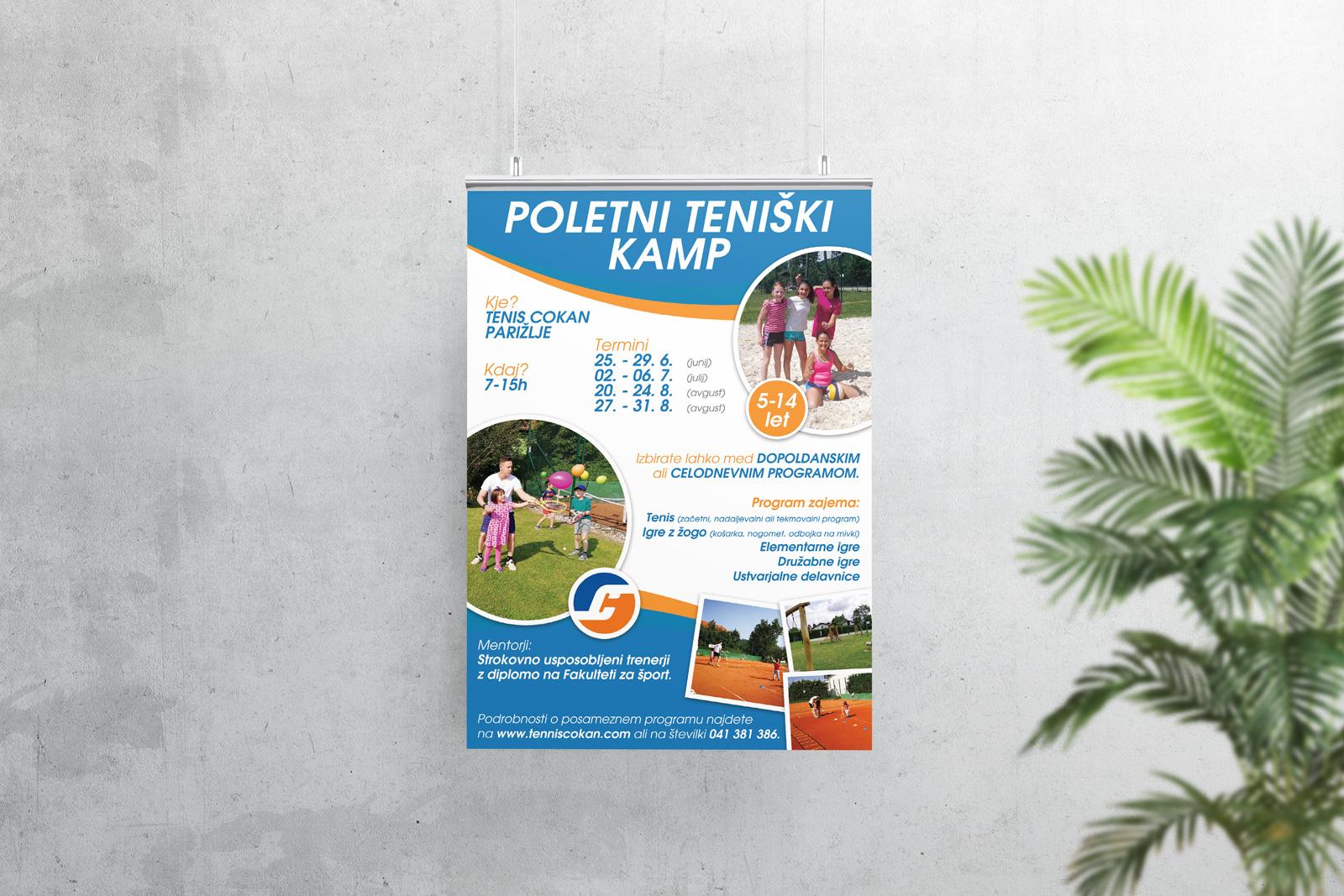 Poletni teniški kamp