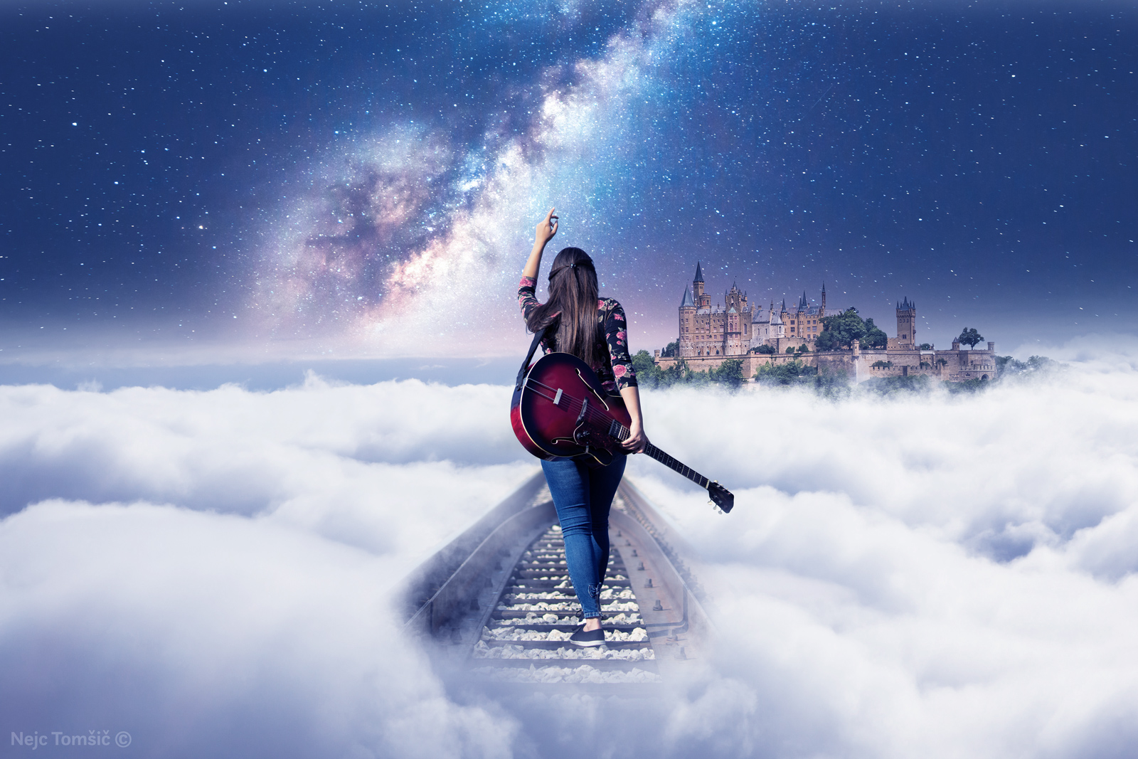 Hoja med oblaki