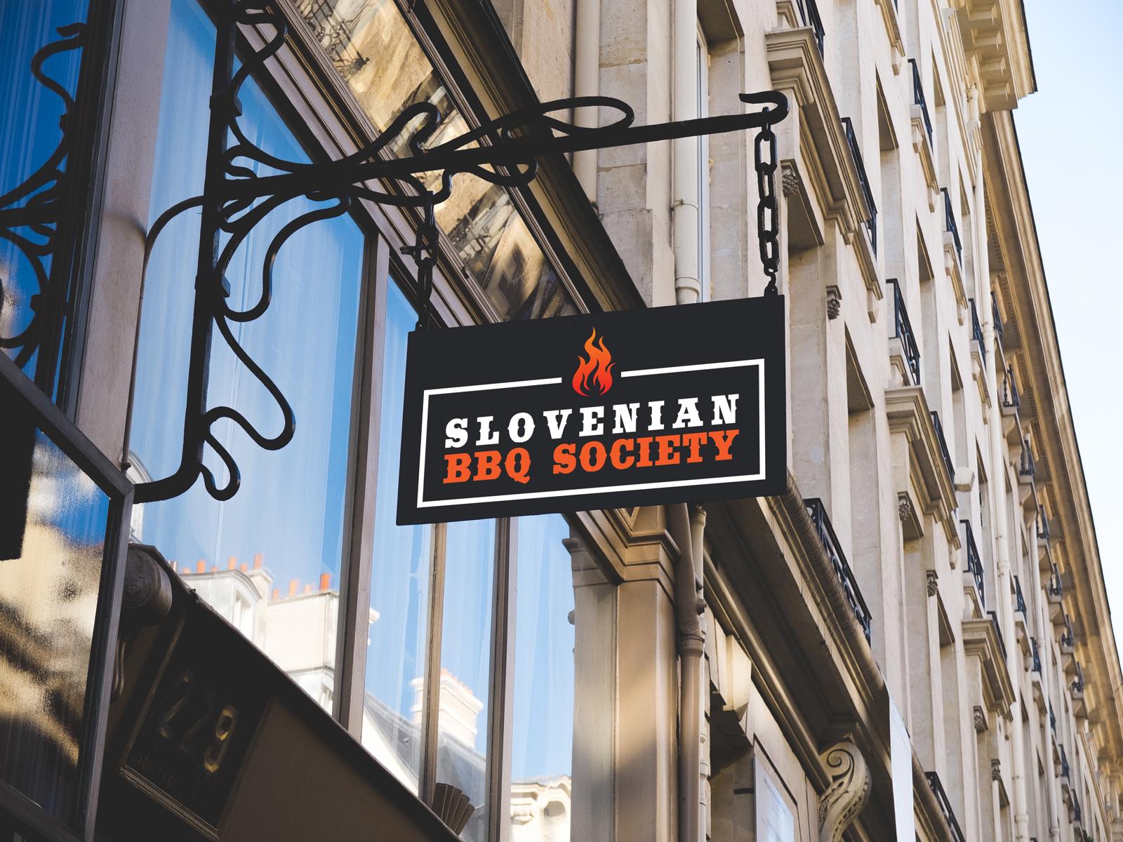 Logotip za Slovenian BBQ Society