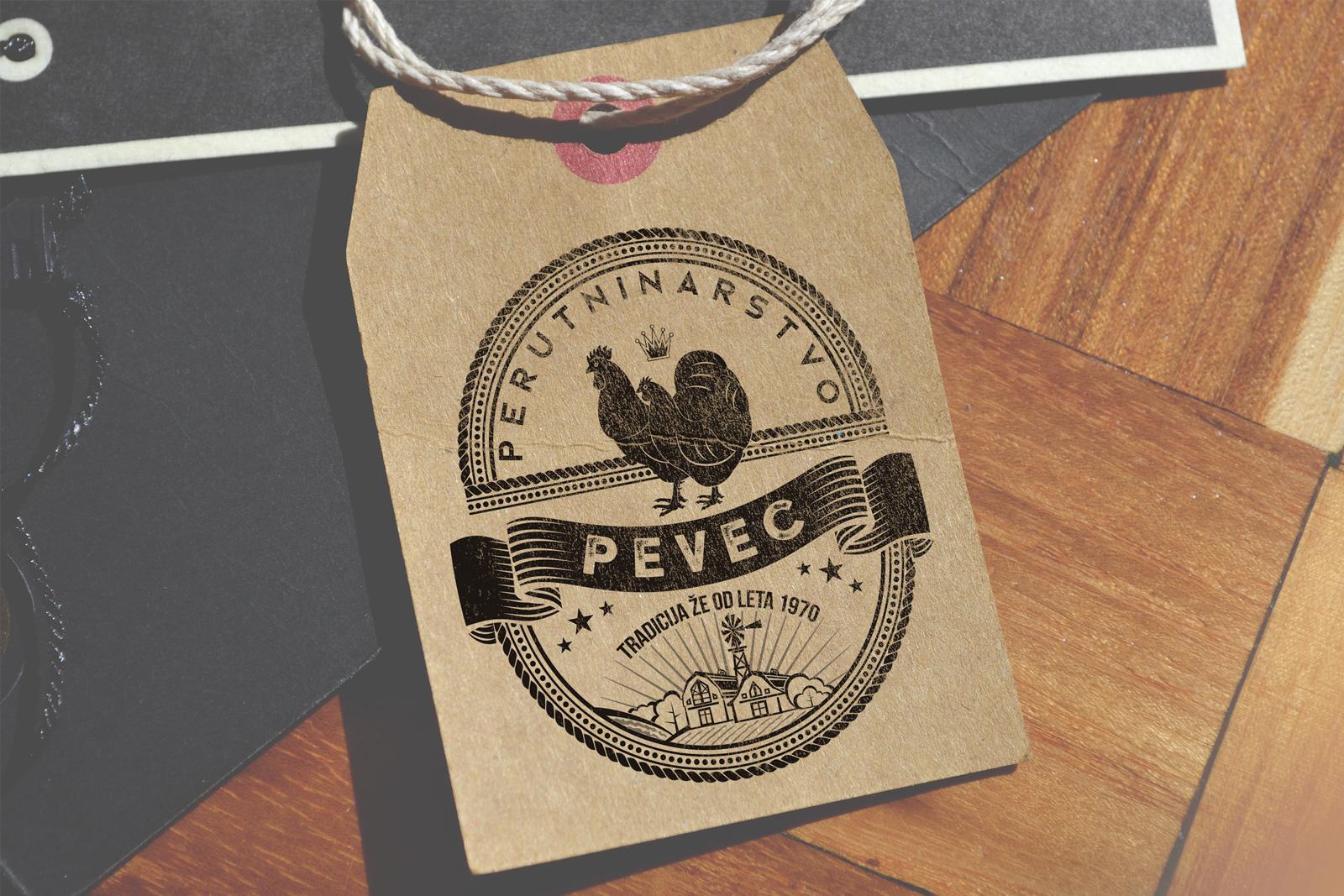 Logotip za perutninarstvo Pevec