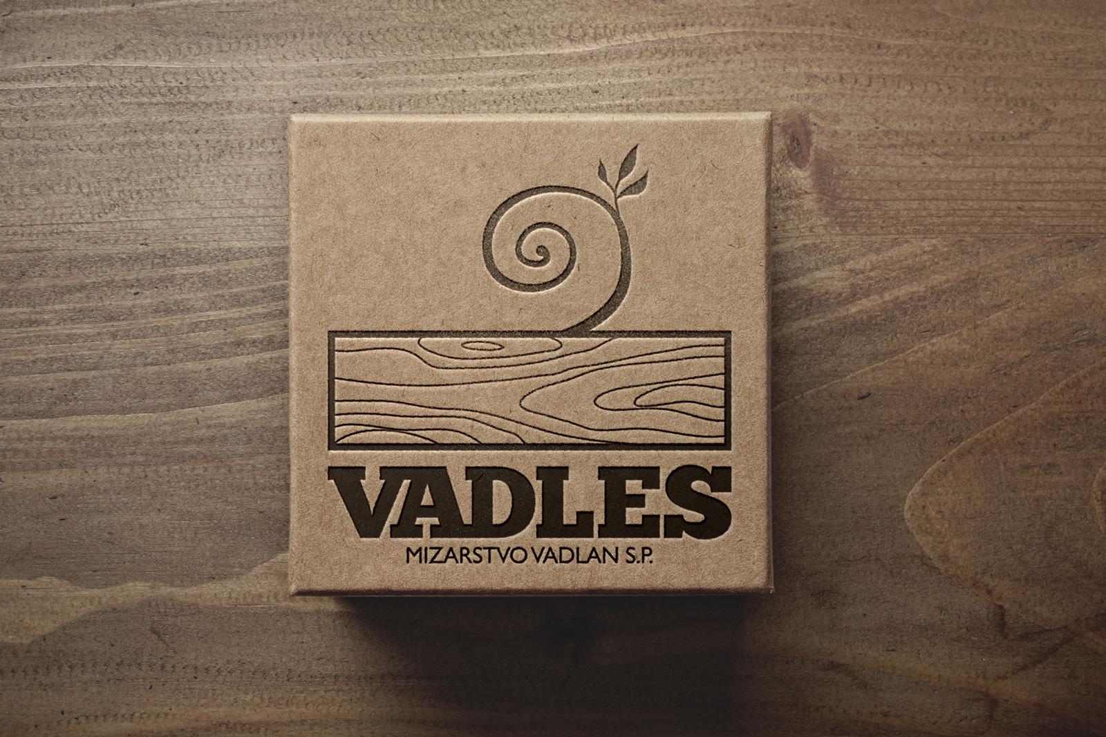 Logotip za mizarstvo Vadlan