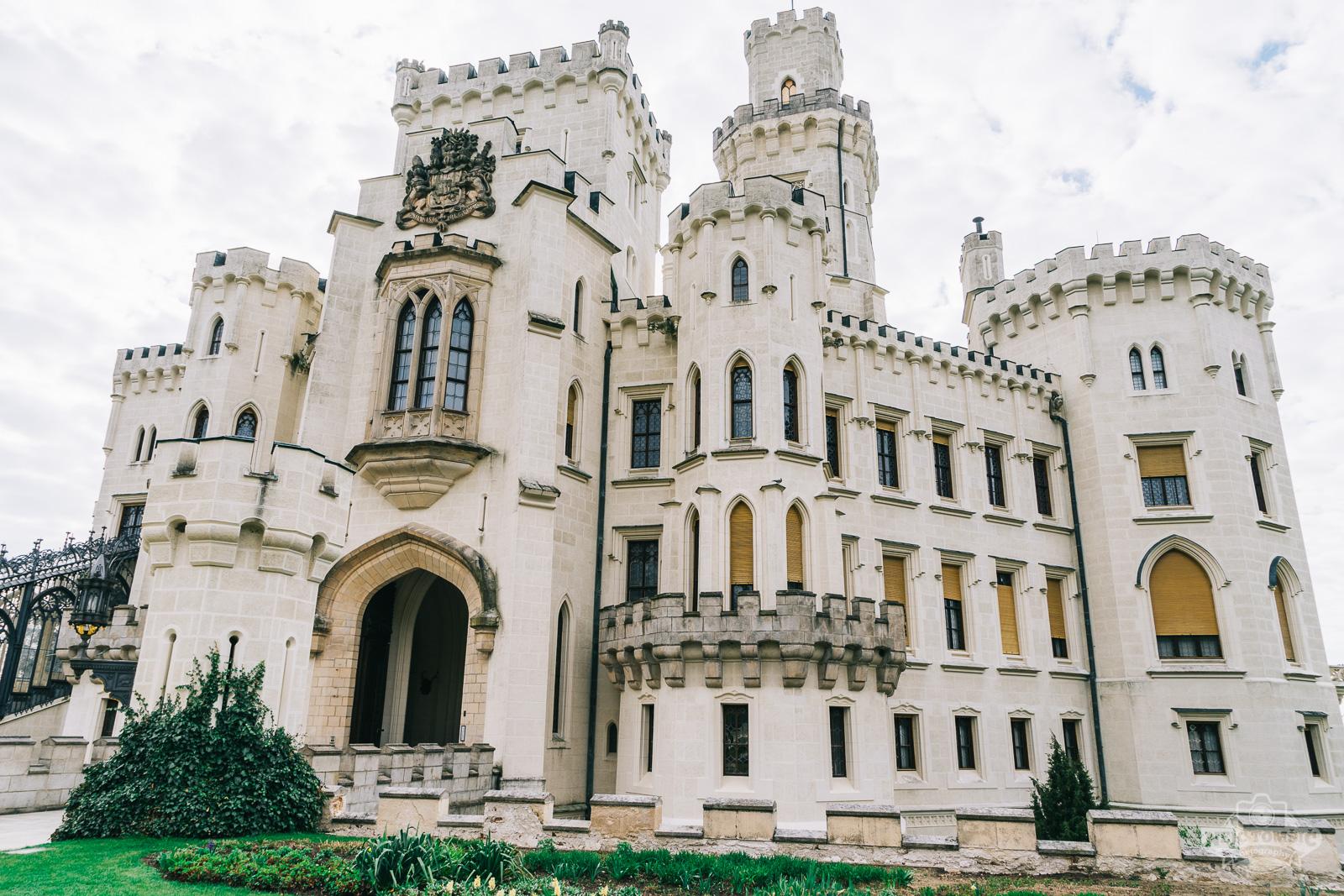 Dvorec Hluboka nad Vltavo